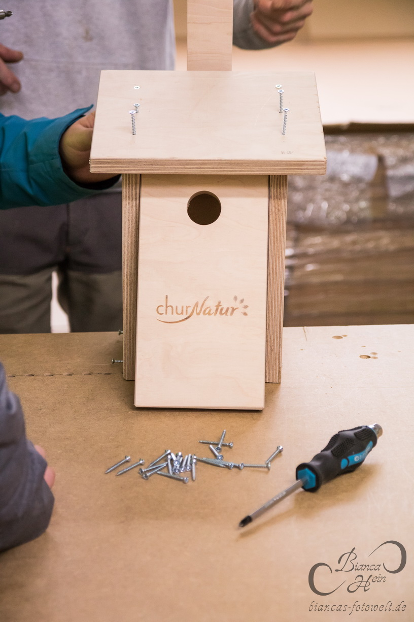 Nistkästen bauen mit churNatur